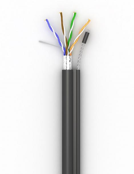 Lan-кабель КППЭт-ВП (100) 4х2х0,51 (F/UTP-cat.5E)