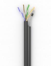 Lan-кабель КППт-ВП (100) 4х2х0,51 (U/UTP-cat.5E)