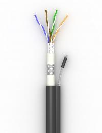 Lan-кабель КППЭОт-ВП (100) 4х2х0,51(S-FTP-cat.5E)
