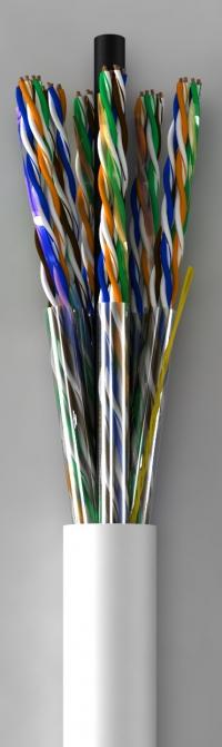 Lan-кабель КПВ-ВП (100) 25х2х0,51 (U/UTP-cat.5)