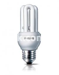 Лампа энергосберегающая 18W/827 E27 Genie Economy Philips