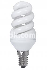 Лампа энергосберегающая  7W/220-N-SS E14 YPZ Economy