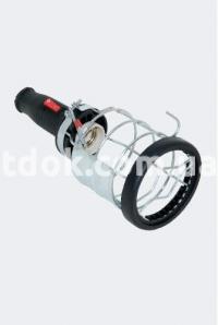 Переносной светильник с выключателем (каучук) 31.16.402.0300