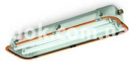 Светильник взрывозащищенный Rino-Ex люминисцентный 2х18 IP65, 820102 Palazzoli