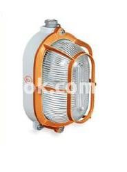 Светильник взрывозащищенный Rino-Ex овал с защитой 200w IP65, 821275 Palazzoli