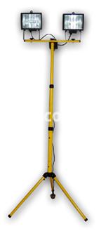 Прожектор галогенный PG QMC 127 2x500W со штативом