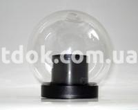Светильник ландшафтный парковый QML1801, с базой, d-150, прозрачный