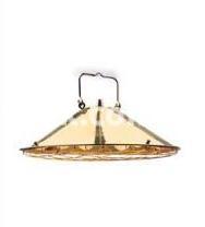 Светильник подвесной Nautilux IP22 латунь, стекло 6х40, 861507 Palazzoli