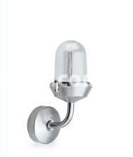Светильник подвесной Nautilux IP44 цилиндр алюминий, стекло 60w 250v, 816071 Palazzoli