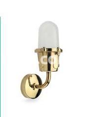 Светильник подвесной Nautilux IP44 цилиндр латунь, стекло 75w 250v, 861140 Palazzoli