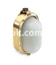 Светильник подвесной Nautilux IP66 овал латунь, стекло 75w 250v, 860100 Palazzoli