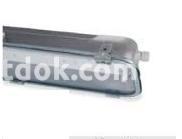 Светильник подвесной люминисцентный Rino 2х36w IP65 оцинкованная сталь, 847202 Palazzoli