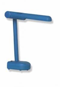 Лампа настольная DL016 голубой