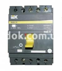 Автоматический выключатель ВА 88-33 3Р 160А 35кА ИЭК