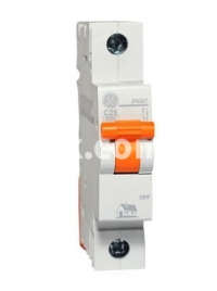Автоматический выключатель GE DG 1ф. C 10А