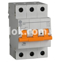 Автоматический выключатель GE DG 3ф. C 10А
