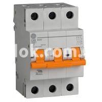 Автоматический выключатель GE DG 3ф. C 6А