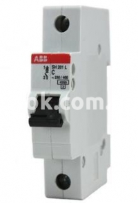 Автоматический выключатель SH201-B16А