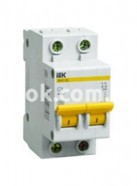 Автоматический выключатель ВА47-29 2Р 6А 4,5кА х-ка С
