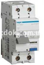 Дифференциальный автомат 2-п. AD975J C 25A/30mA 6kA АС Hager