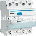 Устройство защитного отключения 4х25 А, 30mA, АС, 4м, CD426J