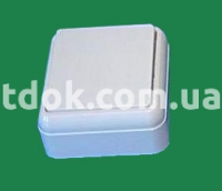 Выключатель одноклавишный А1-184 Крымпласт