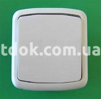 Выключатель одноклавишный С1-6-138 Крымпласт