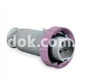Штекер переносной  прямой CEE 16A 20-25В 2P Рalazolli 477003