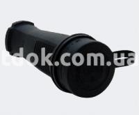 Розетка переносная с заглушкой 3x16A  31.02.304.0300