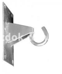 Крюк для плоских поверхностей GHP 12