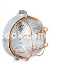 Светильник Rino IP65 алюминиевый круглый с защитой 100w 250v, 830072 Palazzoli