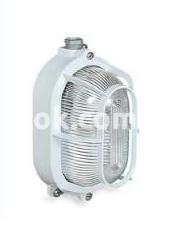 Светильник Rino IP65 алюминиевый овал с защитой 100w 250v, 831175 Palazzoli