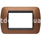 Рамка BANQUISE металлическая,  шестимодульная бронзовый металик, глянцевая, AVE 45PB96BZ