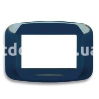 Рамка BANQUISE металлическая с подсветкой,  трехмодульная, светло-синий, AVE 45PB93AZM