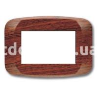 Рамка BANQUISE  двухмодульная, грецкий орех, AVE 45PB02LNC