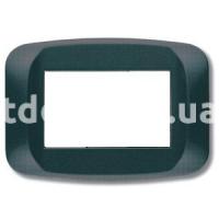 Рамка BANQUISE  двухмодульная, серый металик, AVE 45PB02GM