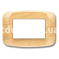 Рамка BANQUISE  трехмодульная, клен, AVE 45PB03LAC