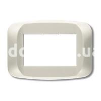 Рамка BANQUISE  трехмодульная, светло-белый, AVE 45PB03BMC