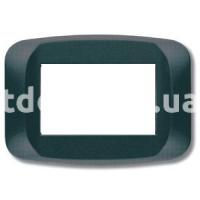 Рамка BANQUISE  трехмодульная, серый металик, AVE 45PB03GM