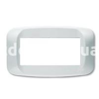 Рамка BANQUISE  четырехмодульная, белый, AVE 45PB04BB