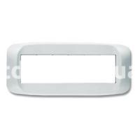 Рамка BANQUISE  шестимодульная, белый, AVE 45PB06BB