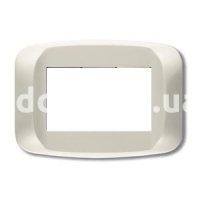 Рамка BANQUISE  шестимодульная, светло-белый, AVE 45PB06BMC