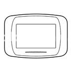 Рамка BANQUISE  трехмодульная, металлическая, титан, AVE 45PB93TI