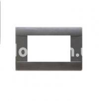 Рамка RAL  трехмодульная, темно-серый, AVE 45P03GN