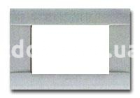 Рамка RAL  четырехмодульная, под мрамор, глянцевая, AVE 45P04M