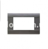 Рамка RAL  шестимодульная, темно-серый, AVE 45P06GN