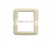 Рамка YES Maxi  3+3 модулей, белый, AVE 45PY033BB