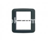 Рамка YES Maxi  3+3 модулей, тёмно-серый, AVE 45PY033GSM