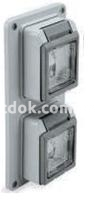 Планка с местом для розеток и выключателей, Рalazolli 579970