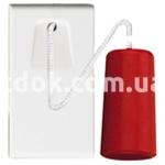 Выключатель на верёвке одномодульный, однополюсный, одноклавишный, 1P NO 20A-250v, белый, AVE 45B17